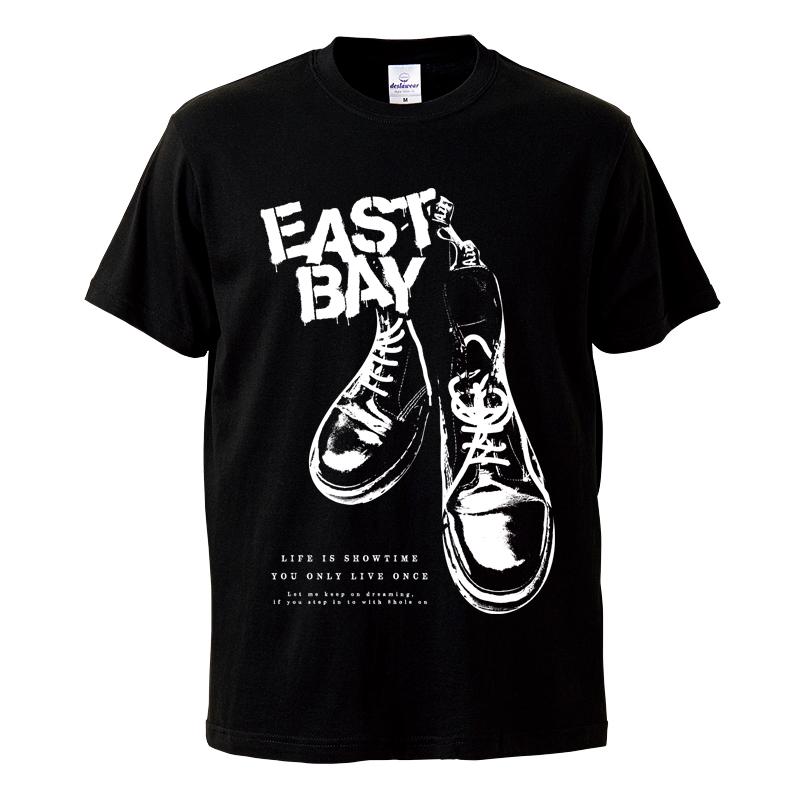 8ホールTシャツ / 黒の写真