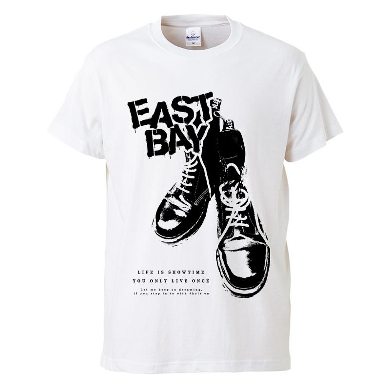 8ホールTシャツ / 白の写真