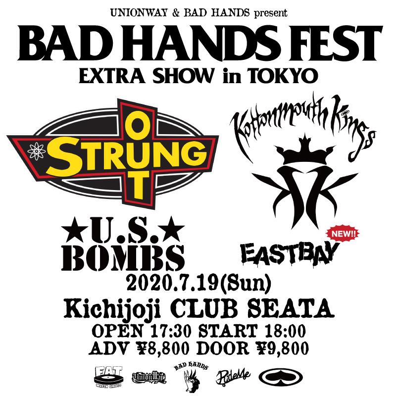【中止】BAD HANDS FEST EXTRA SHOW in TOKYOの写真