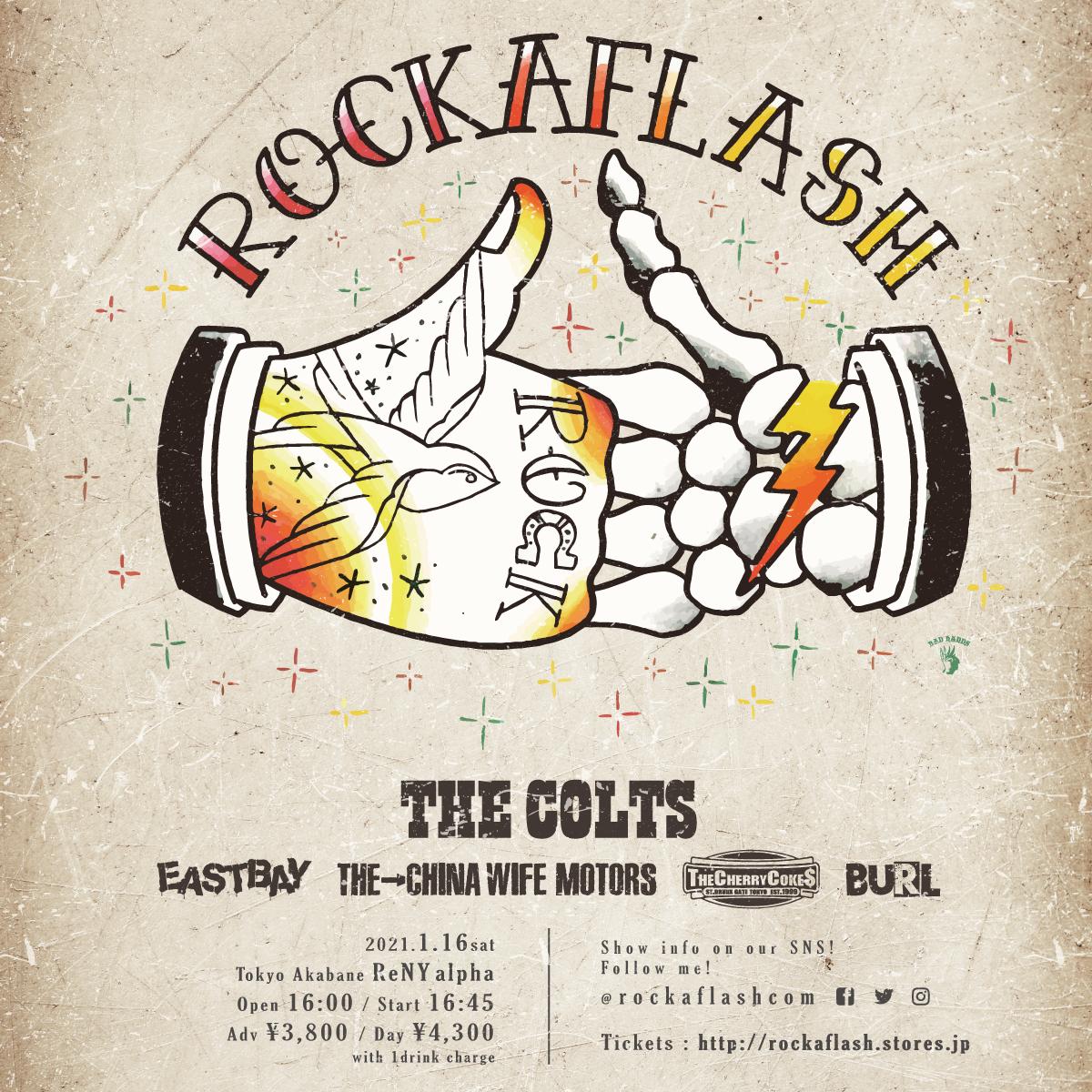 ROCKAFLASHの写真