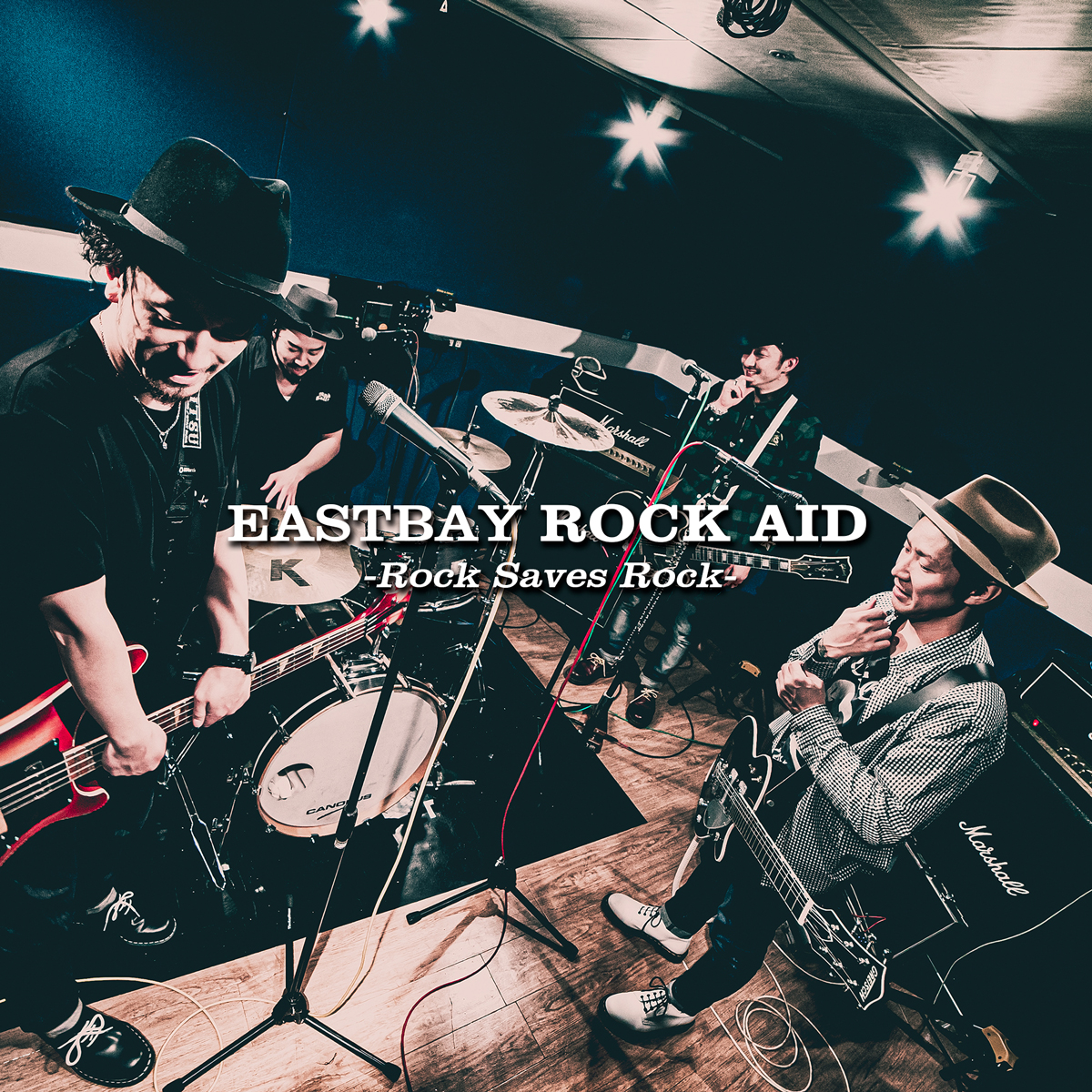 EASTBAY Charity Project【ROCK AID -Rock Saves Rock-】のジャケット