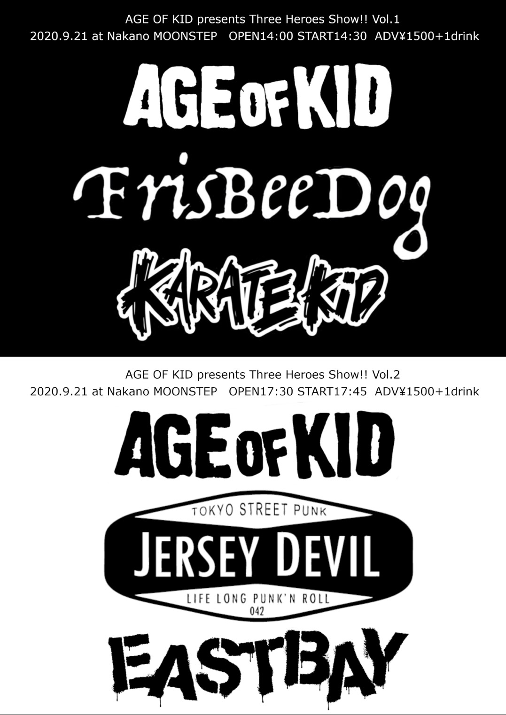 AGE OF KID pre. Three Heroes Show!! vol.2の写真