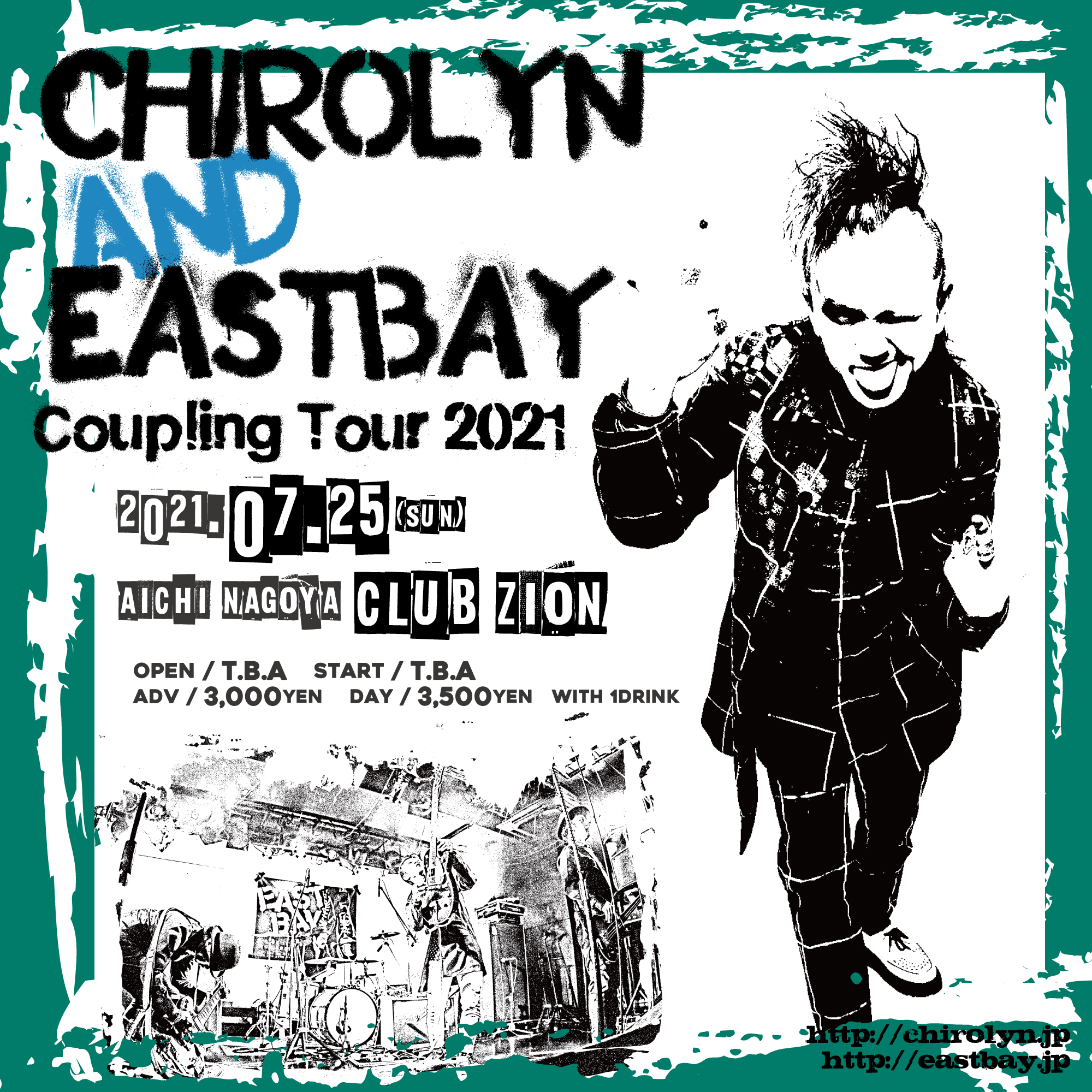 Chirolyn & EASTBAY Coupling Tour 2021 in 名古屋の写真