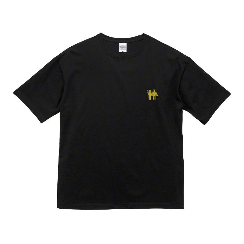 Frenemy 金刺繍 ビッグシルエットTシャツ / 黒の写真